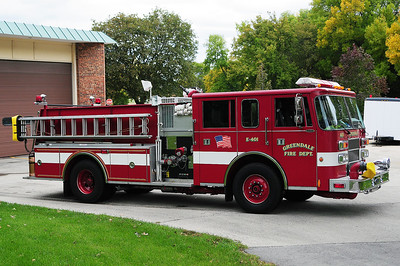 Engine 401 - 1994 Pierce/Saber -1500 GPM/500 Tank - Photo added September 27th, 2012