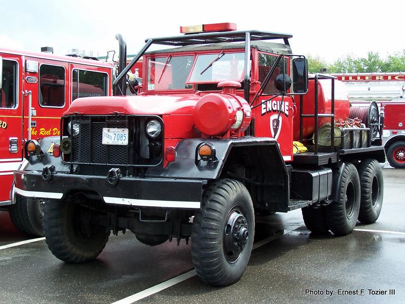Massachusetts DCR Engine 6-8 - 1980 AM General 110/600