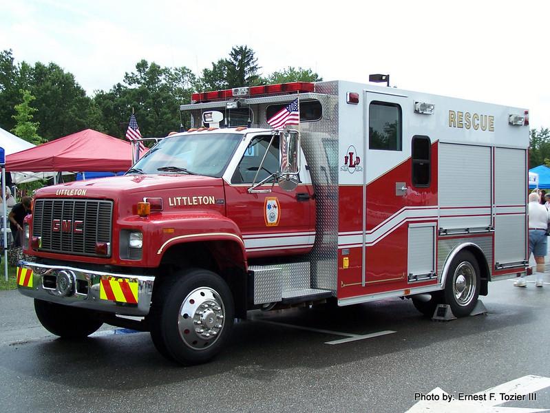 Littleton Rescue 1 - 2002 GMC/EVM