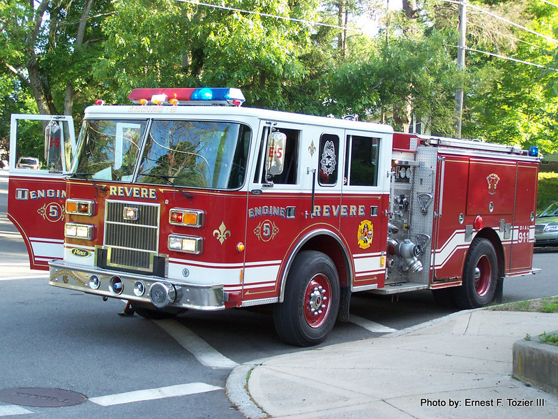 Revere Engine 5 - 1995 Pierce Sabre 1250/750