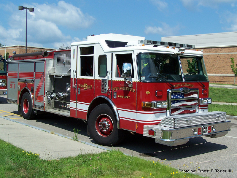 North Attleborough Engine 5 - 2007 Perce Dash 1500/500