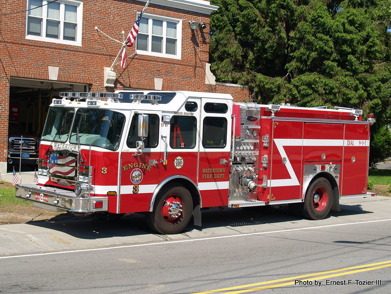 Watertown Engine 3 - 2013 E-One Typhoon 1250/780