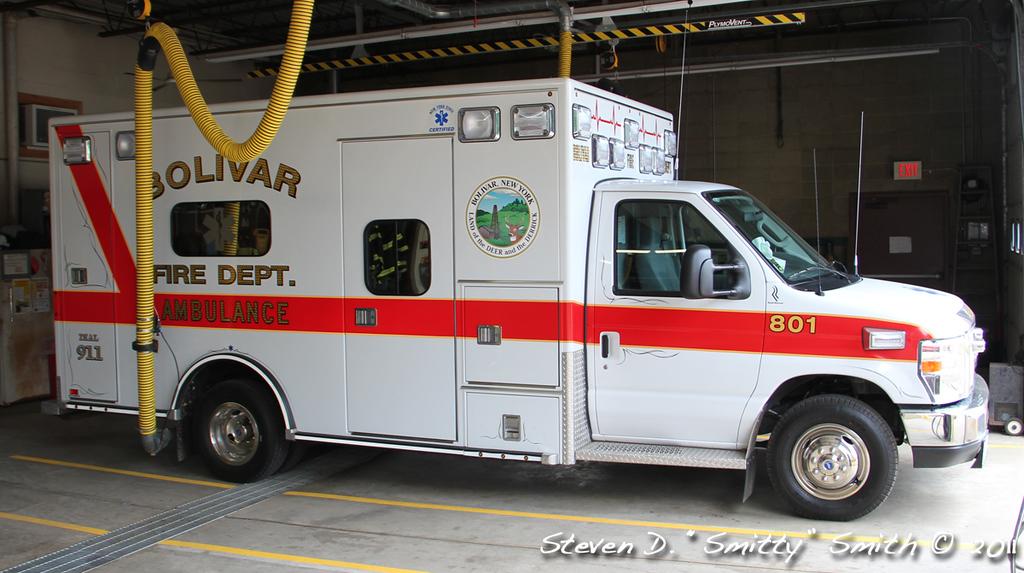 Bolivar's ambulance (of 2) 801.