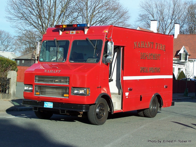 Special Operations/Ocean Rescue - 1992 Chevy/Supreme (Ex-Keyspan service truck)