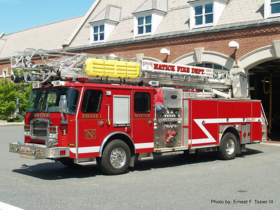 Natick, MA Fire Apparatus