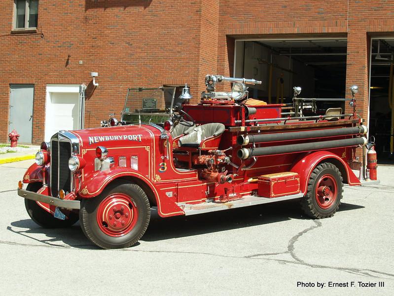 Engine 3 - 1938 Maxim 500/300 (Antique Parade Engine)