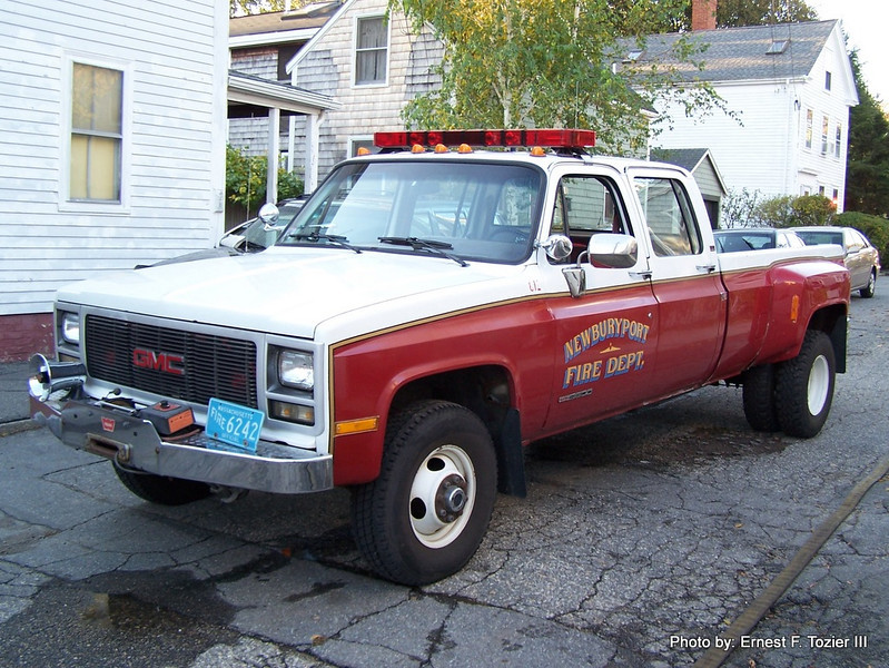 Utility - 1980's GMC Dually Pickup (Disposed of in 2012)