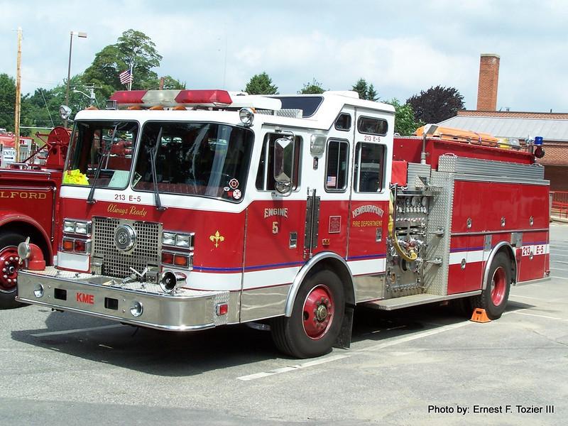 Engine 5 - 1993 KME 1500/740/60F (Retired)