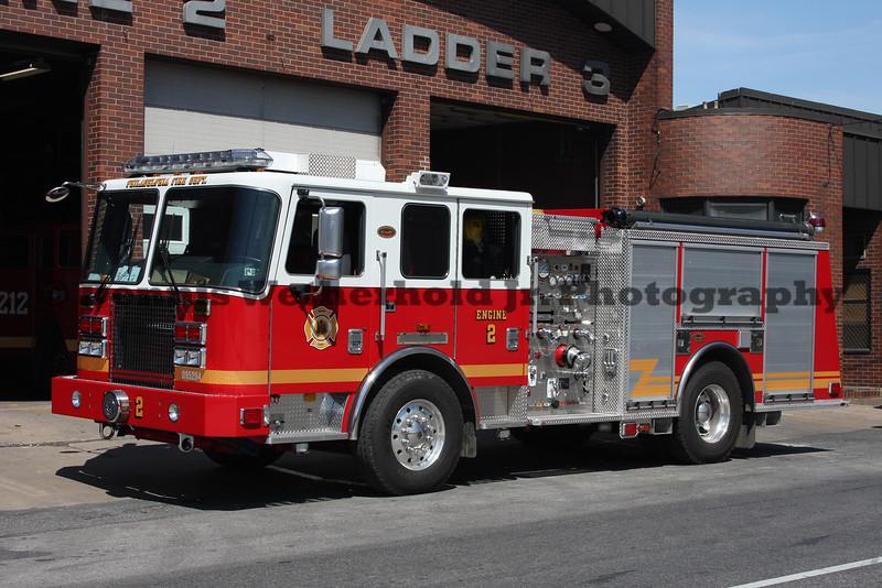 Philadelphia Fire Department Engine 2 - 2009 KME - 1,500 Pump - 500 Tank