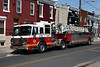 Philadelphia Fire Department Ladder 14 - 2003 American LaFrance/LTI 100' Tiller Ladder