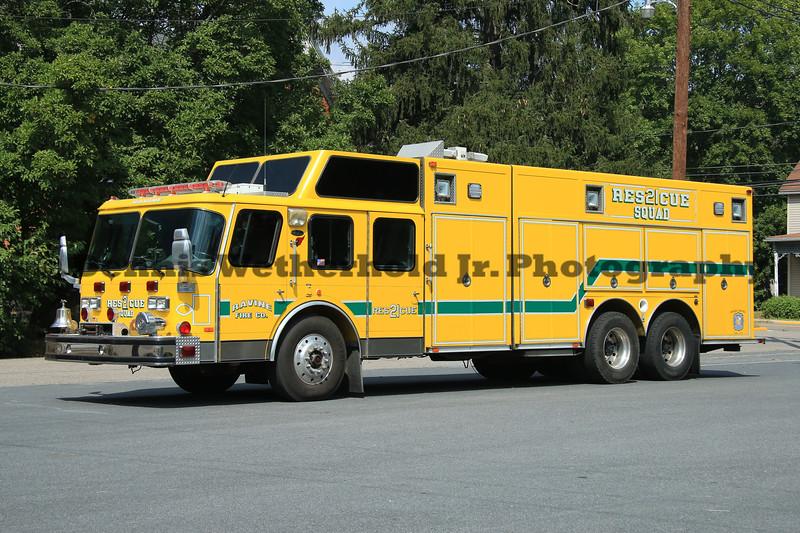 Ravine Fire Company Rescue 21<br /> 1990 E-One Hush<br /> Ex Woodbridge, VA