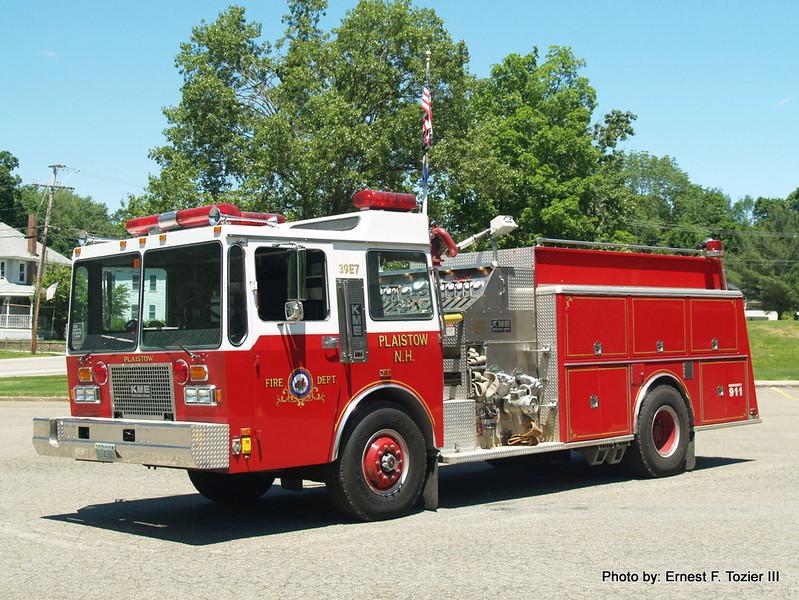 Engine 7 - 1987 KME Ranger 1500/1500