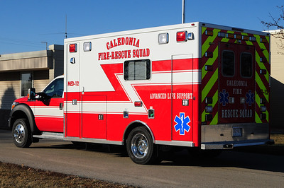 Caledonia Fire & Rescue MED 12 - 2014 Ford F450 Super Duty XLT/Life Line - Photograph added December 31st, 2014.