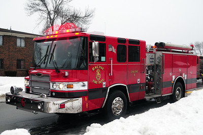 Engine 6 - 2010 Pierce Quantum 1500/500/70 - Photo Added 5/19/2015.