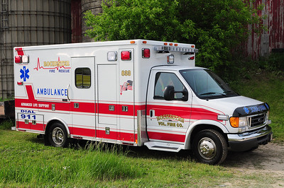 Rescue 833 - 2007 Ford/Medtec - (ALS Rescue)