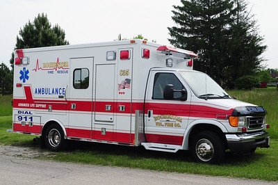 Rescue 835 - 2005 Ford/Medtec - (ALS Rescue)