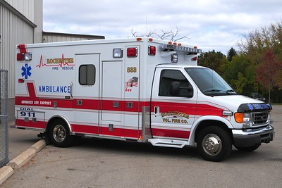 Rescue 833 - 2007 Ford/Medtec - ALS - Photograph Added October 7th, 2012.