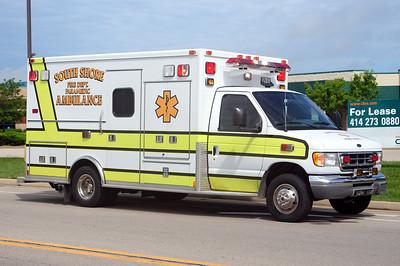 South Shore Rescue 134 - 2001 Ford/Medtec - (ALS Rescue) - Former Mt. Pleasant Rescue - Photo Added 8/09/2010