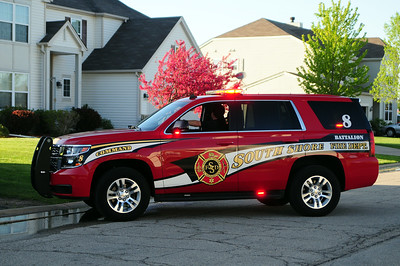 The South Shore Fire & Rescue  Battalion 8 - 2014 Chevrolet/Tahoe - Photo Added May 19/2015.