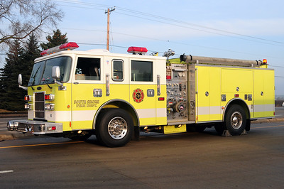 South Shore Engine 122 - 2000 Pierce/Dash - 1500/750 - Former Mt. Pleasant Engine 122 - Photo Added 3/14/2010