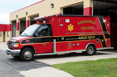 Rescue 532 - 1996 Ford/Medtec - ALS - Photograph Added - August 11th, 2013.