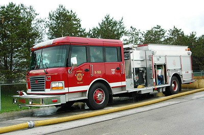 Engine 522 - Rosenbaur/Central States - 1500/1000 - Photograph Added August 11th, 2013.  In 2008 this Engine had an HME added replacing a Rosenbaur cab.