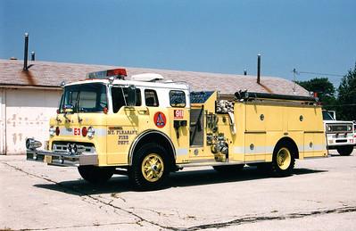 Mt. Pleasant Engine 3 - Photo Added 4/8/2010  Scanned Photo