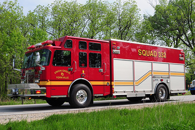 Squad 332 - 2003 Saulsbury/Spartan Gladiator - Heavy Rescue/Cascade/Command - Photo Added 5/21/2010