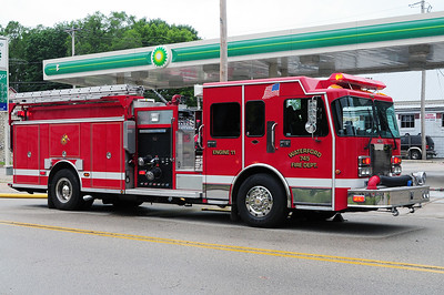 Engine 745 - 2001 Spartan/Darley -1500/1000/CAFS - Photograph added June 24th, 2011.