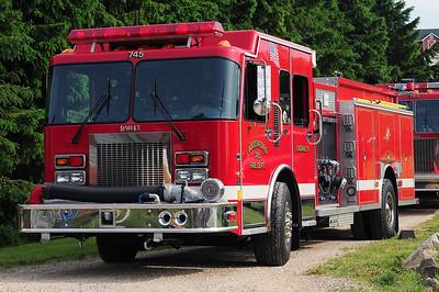 Engine 745 - 2001 Spartan/Darley -1500/1000/CAFS