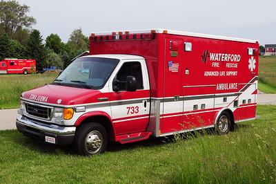 Rescue 733 - 1994 Ford/Medtec - (ALS Rescue)