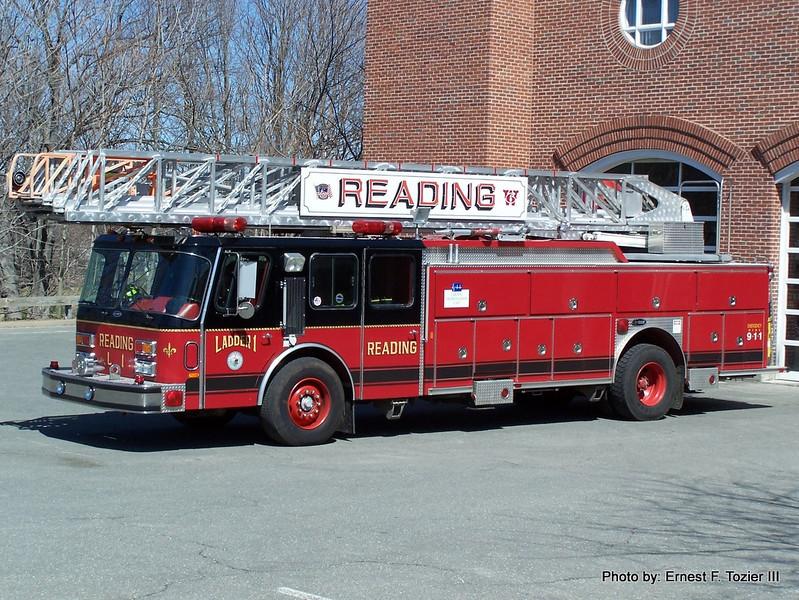 Ladder 1- 1991 E-One 110' RMA (Sold to Salisbury, MA in 2009)