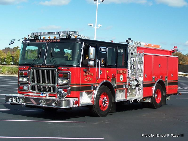 Engine 1 - 2009 Seagrave Marauder II 1250/1000