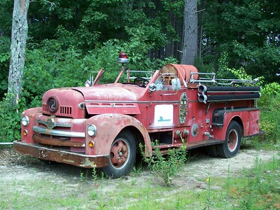 Retired Fire Apparatus