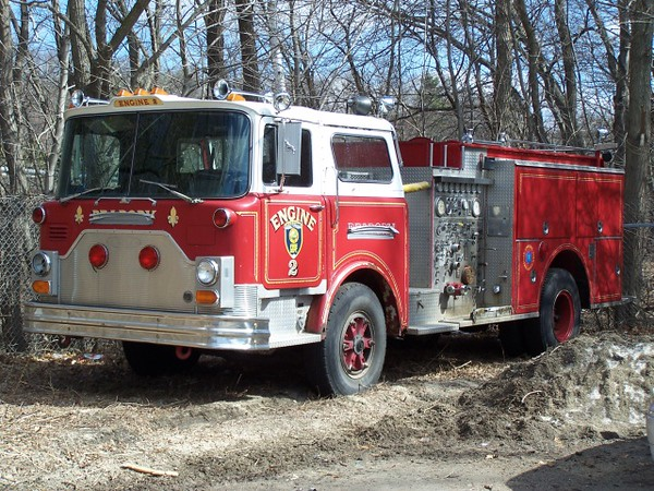 Peabody Engine 2 - 1981 Mack 1250/500 (Previously served as Engines 1 and 5)