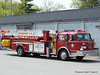 Ladder 1 - 1954 (1978 Cab) American LaFrance Century 100' Midmount Aerial (Retired in 2012)