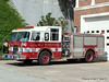 Engine 5 - 1995 Pierce Saber 1250/750 (Before refurb, former Engine 1)