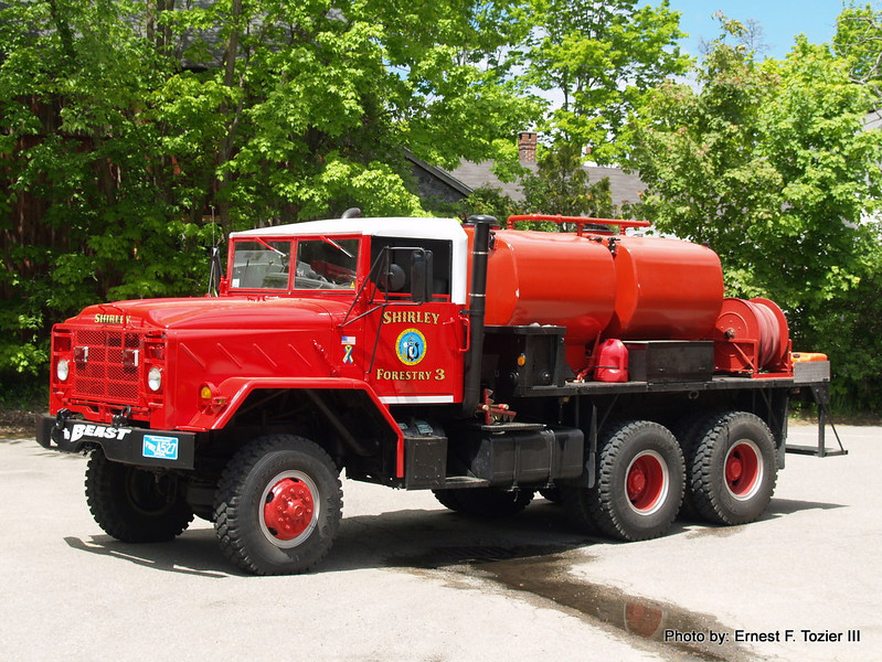 Forestry 3 - 1983 AM General 6x6 250/1200