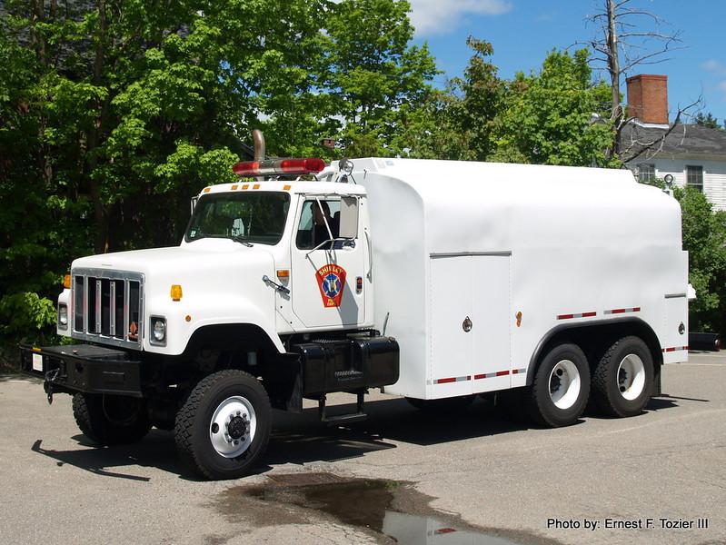 Tanker 1 - 1993 International 350/2500 (Ex-FEMA fuel truck)
