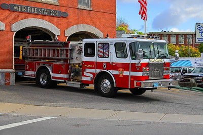 Engine 9 - 1996 E-One Sentry 1500/750 X Engine 3 & 7
