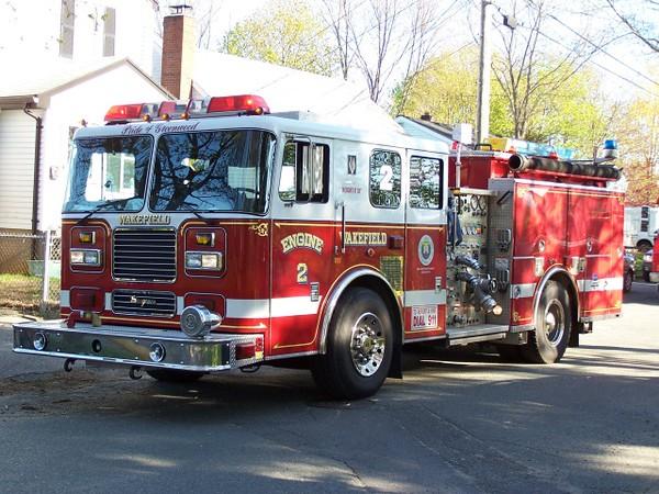 Engine 2 - 2001 Seagrave 1250/750/30F