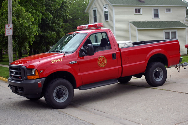Utility 2841 - 2001 Ford F-350 XL Pick-up