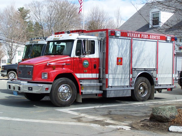 Rescue 410 - 1997 Freightliner/Central States w/ 200 Gallon Water Tank