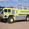 Rescue 3 (Engine 1913) Oshkosh Striker S-3000<br /> Waterous 1,950 GPM pump, 3,000 gallon water tank, 420 gallon AFFF foam<br /> 450 lbs. purple K agent