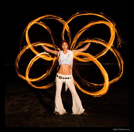 Fire Dancer - Mango