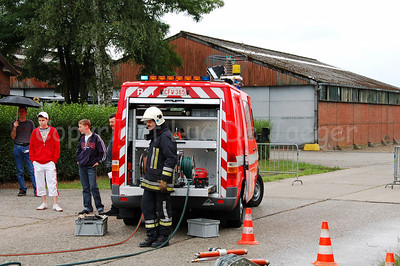 A firefighter at the scene of the accident