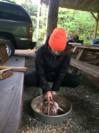 Fire Building and knot tying 2016