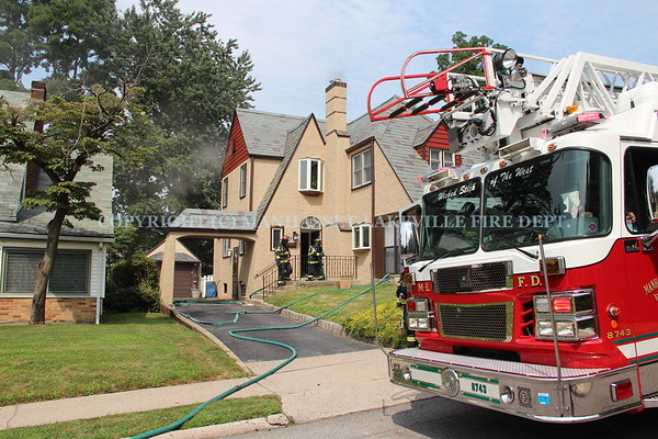 M-LFD Extinguishes Basement Fire