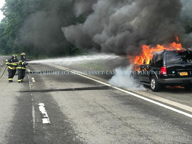 June 21, 2018 Car Fire