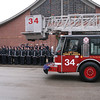 CHICAGO FIRE DEPARTMENT FUNERAL SERVICE FOR FIREFIGHTER COREY ANKUM FROM ENGINE CO#72 AND TOWER LADDER # 34 :